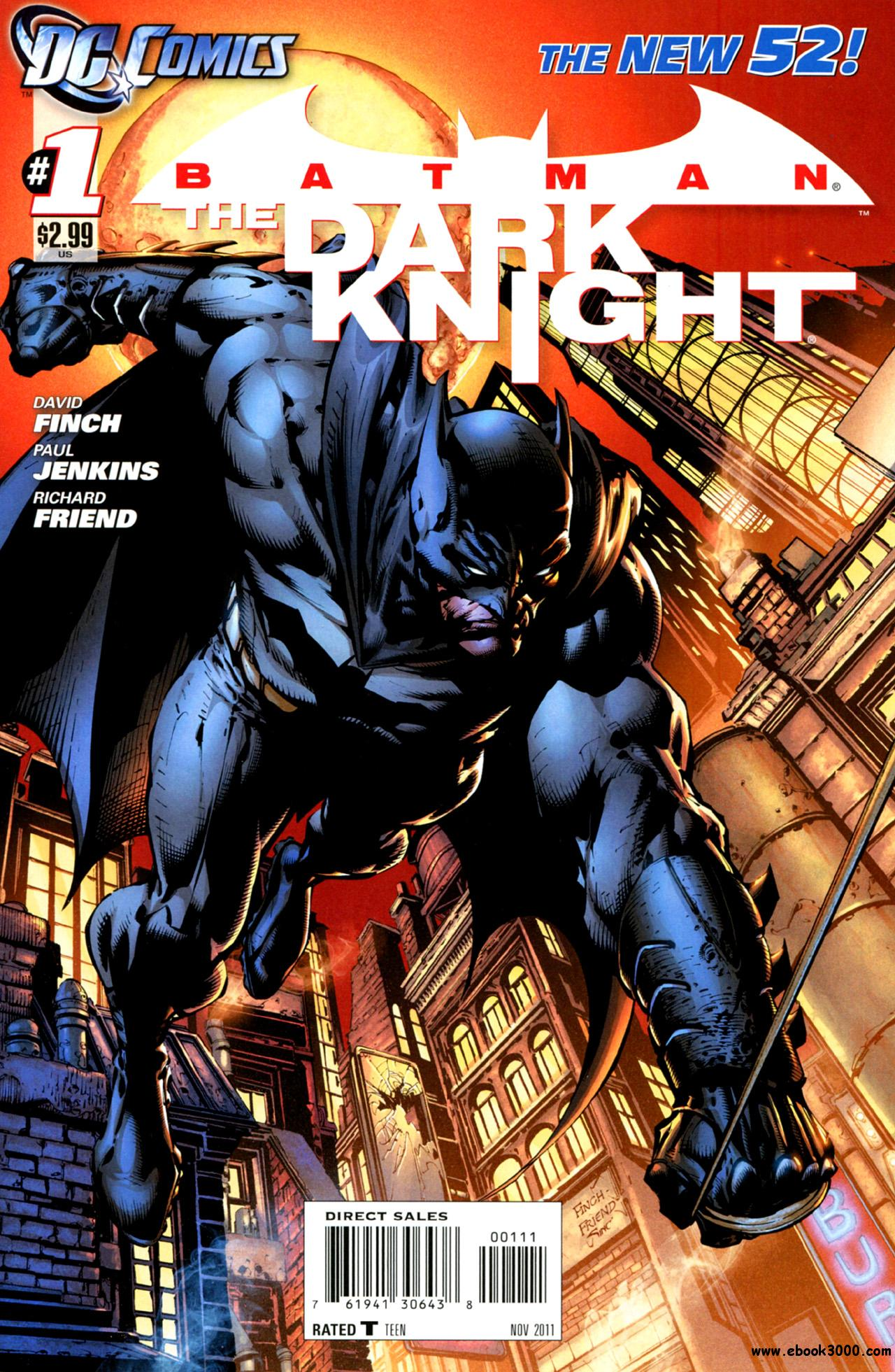 Batman - The Dark Knight #1 (2011) free download