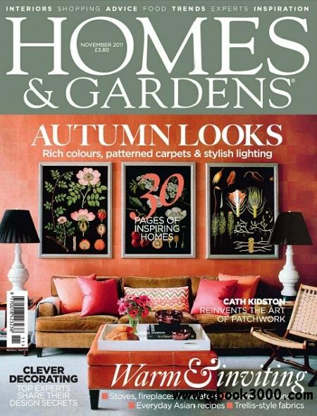 Homes & Gardens - November 2011 free download
