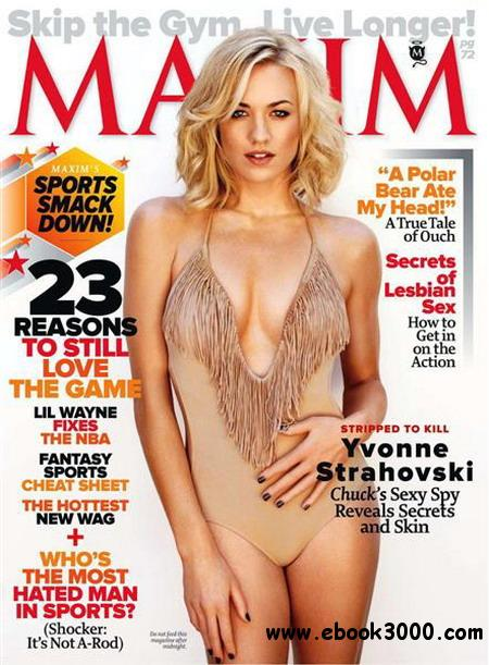 Maxim - October 2011 / USA free download