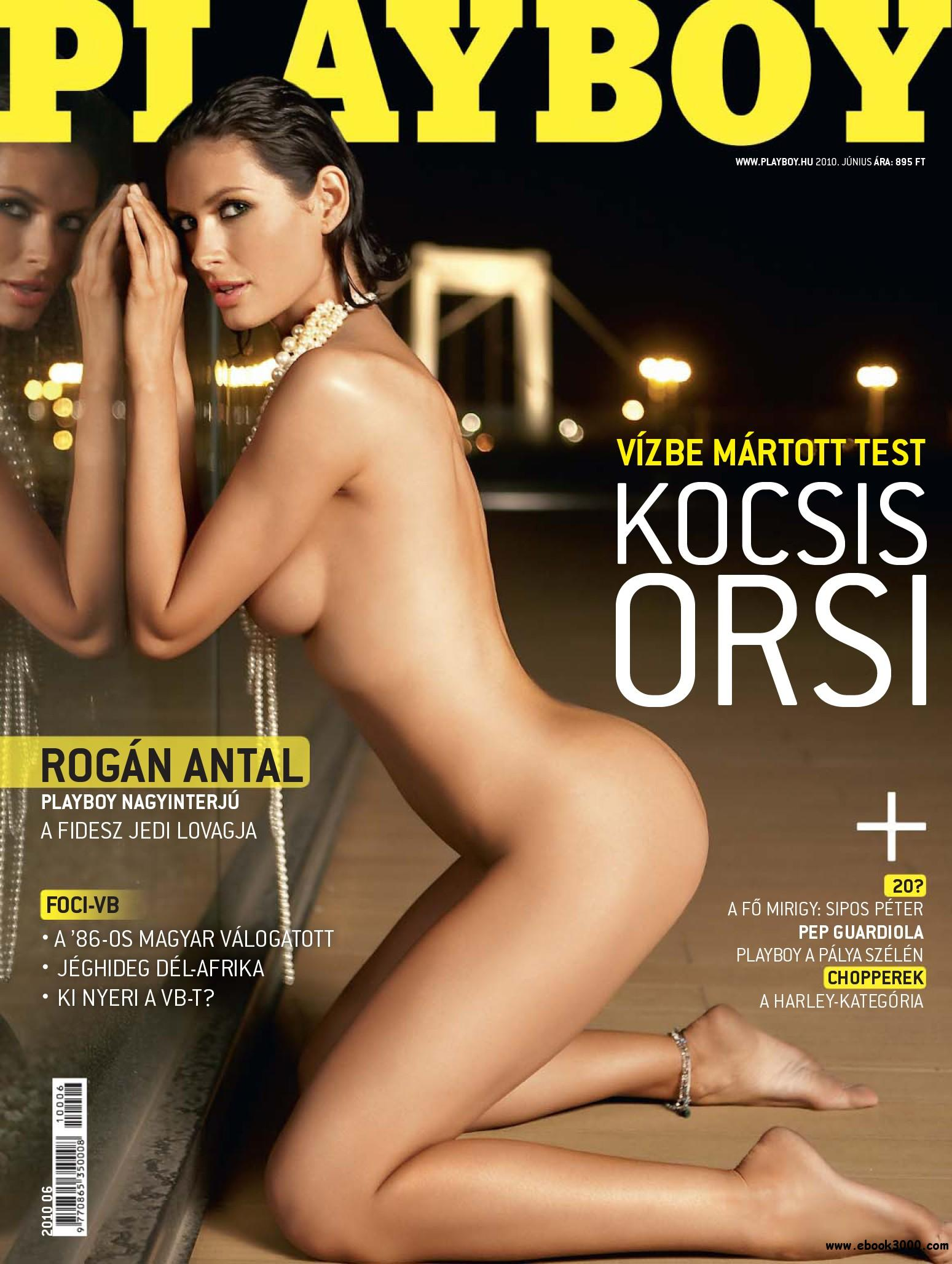 Playboy Hungary - June 2010 free download