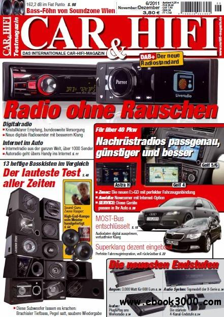 Car und Hifi Magazin November - Dezember No 06 2011 download dree