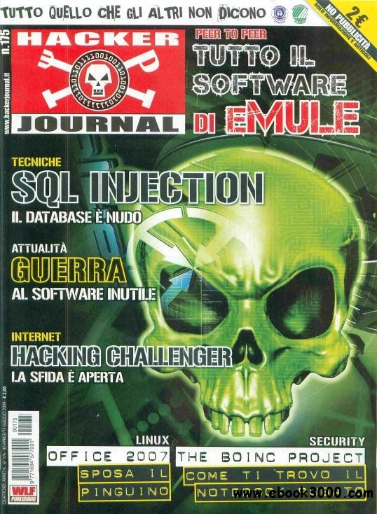 Hacker Journal N 175 - 30 Aprile - 13 Maggio 2009 free download