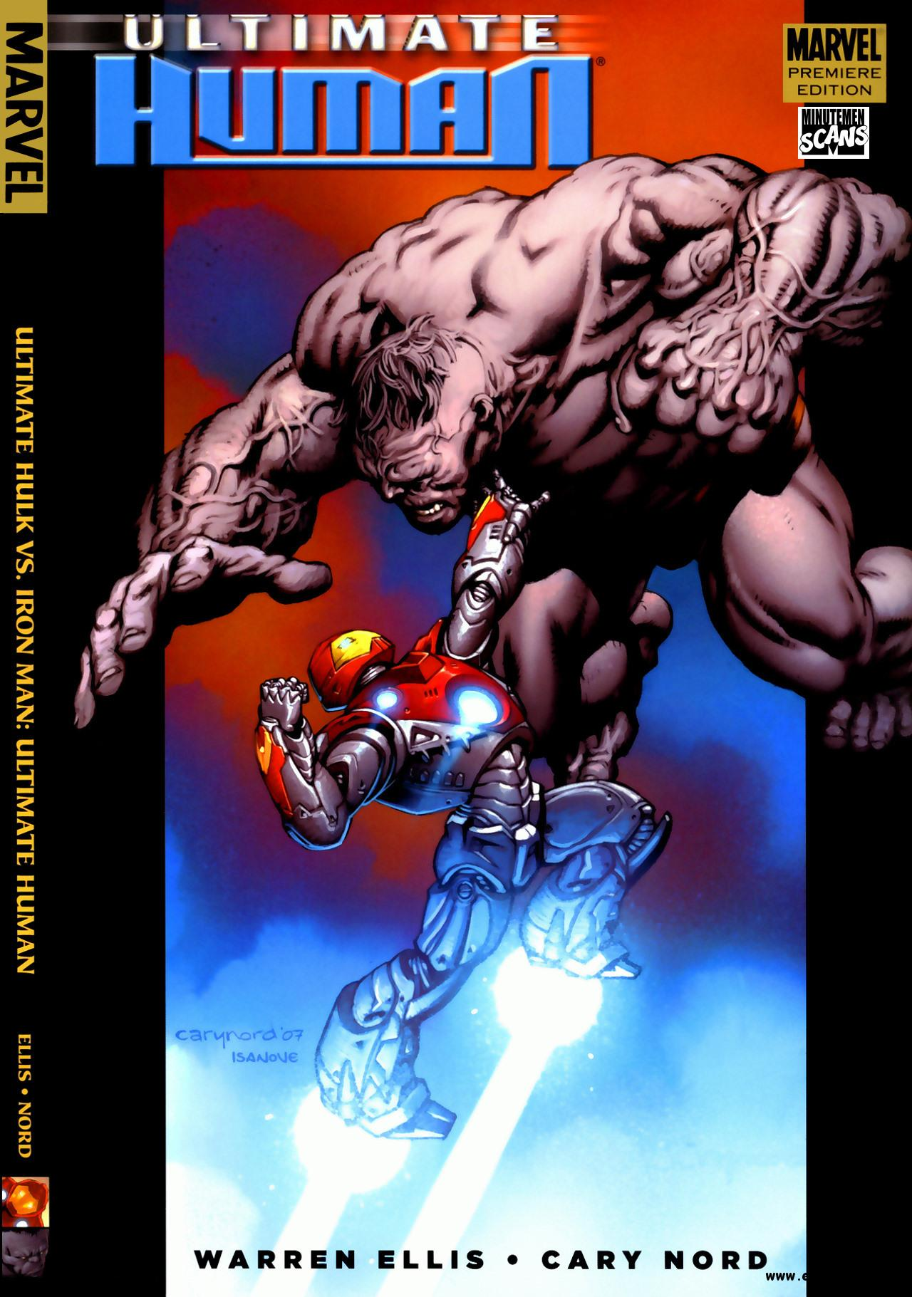 Ultimate Hulk vs Iron Man - Ultimate Human [HC] (2008) free download