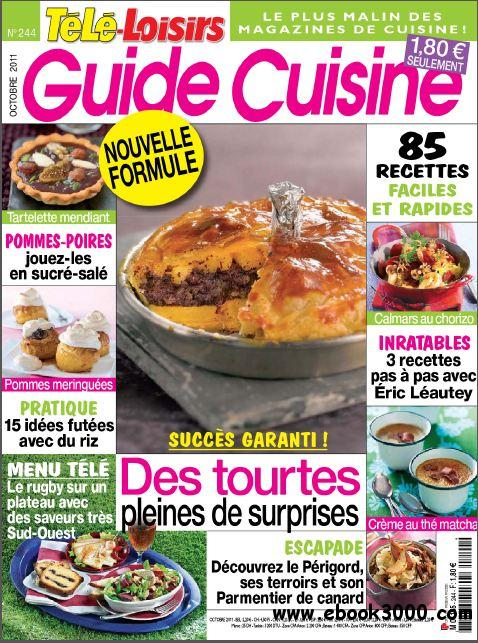 Tele Loisirs Guide Cuisine N 244 - Octobre 2011 free download