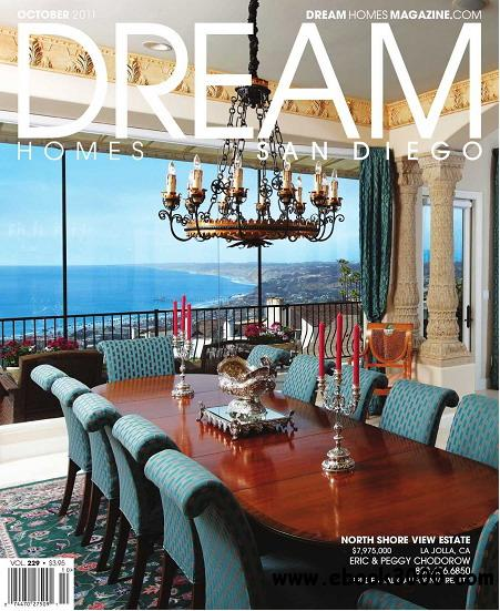 Dream Homes San Diego Magazine October 2011 free download