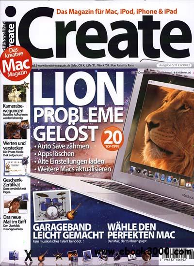 iCreate Magazin November Dezember No 06 2011 free download