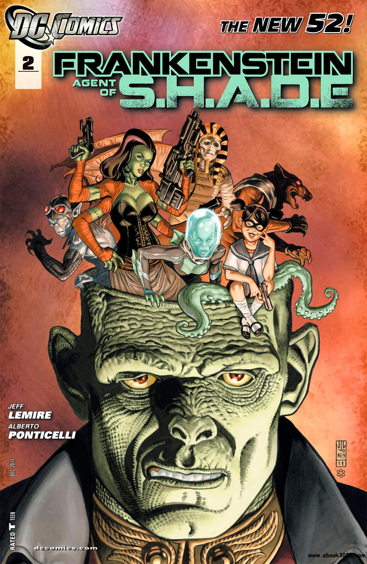 Frankenstein - Agent of Shade #2 (2011) free download