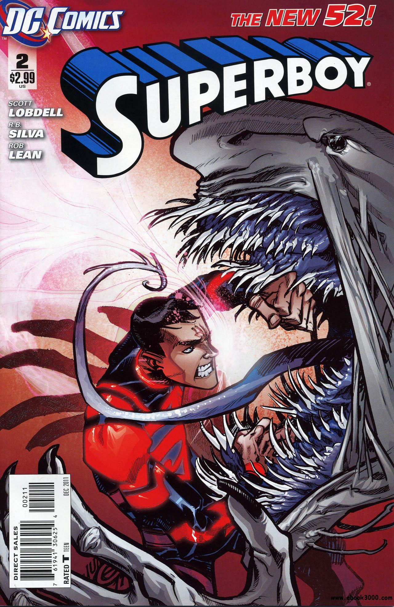 Superboy #2 (2011) free download