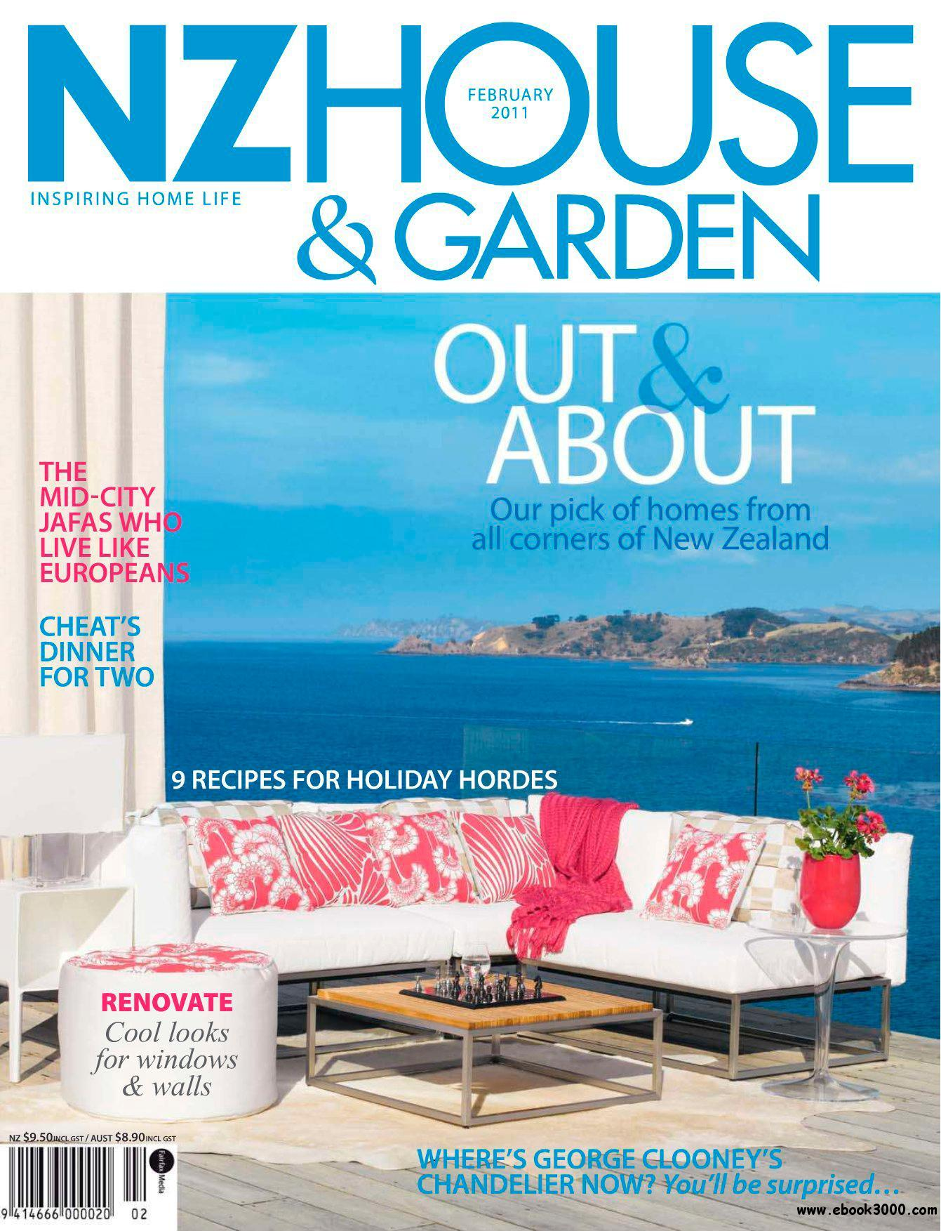 New Zealand House & Garden - February 2011 free download
