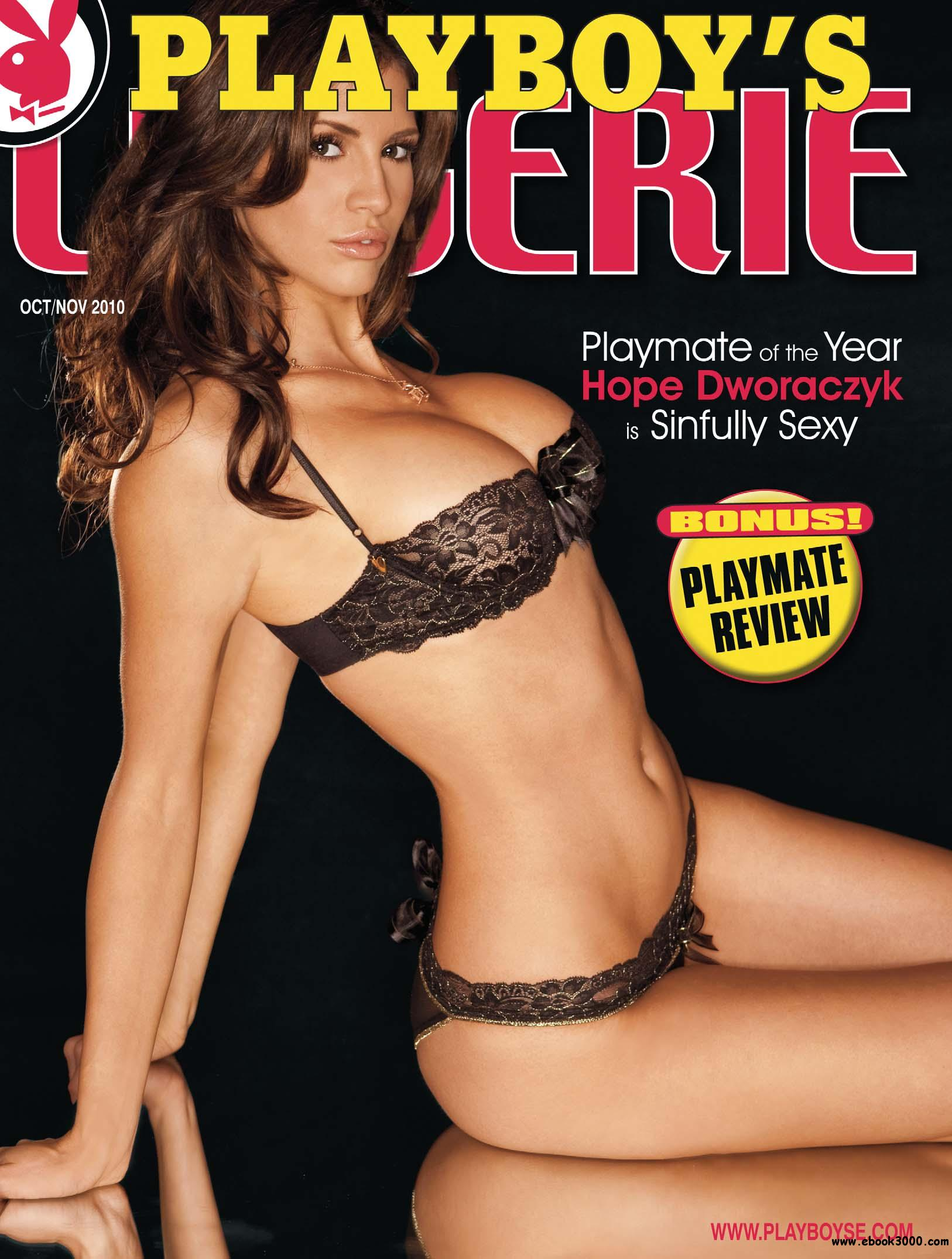 Playboy's Lingerie - October/November 2010 download dree