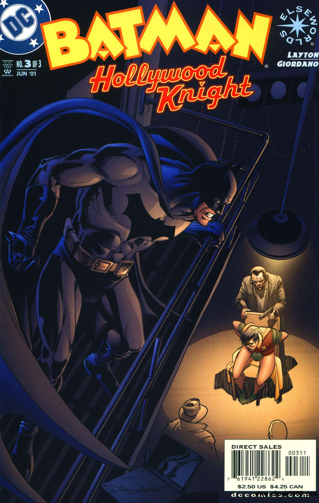 Batman: Hollywood Knight #1-3 [complete] free download