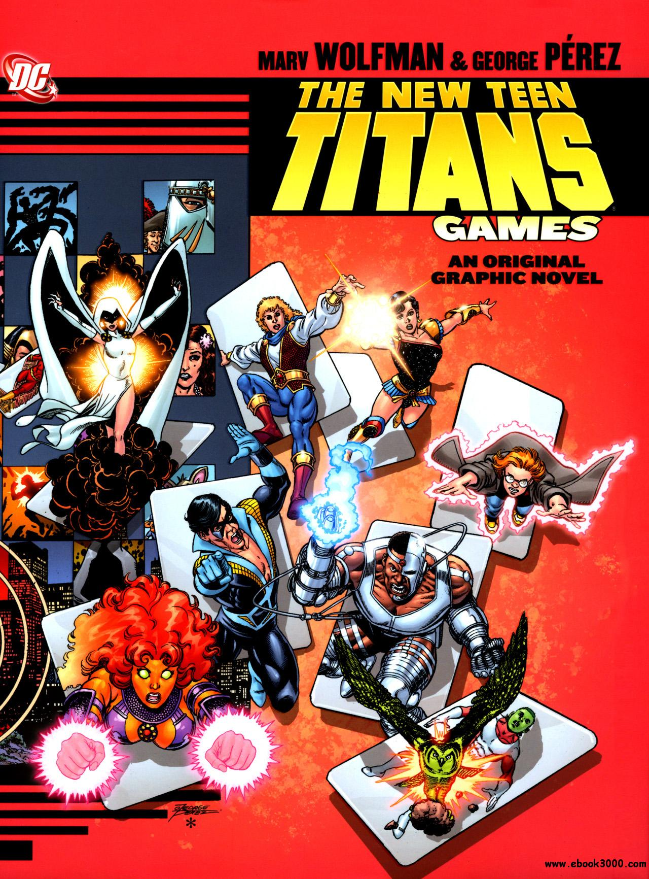 The New Teen Titans - Games - [HC] (2011) free download