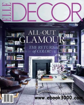 ELLE Decor - November 2011 free download
