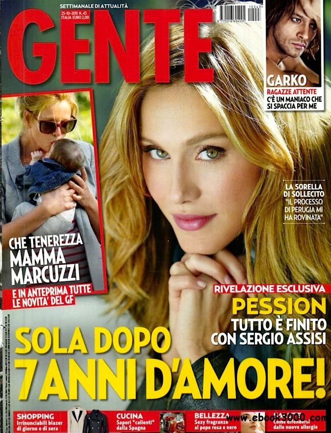 GENTE N 43 - 25 Ottobre 2011 free download