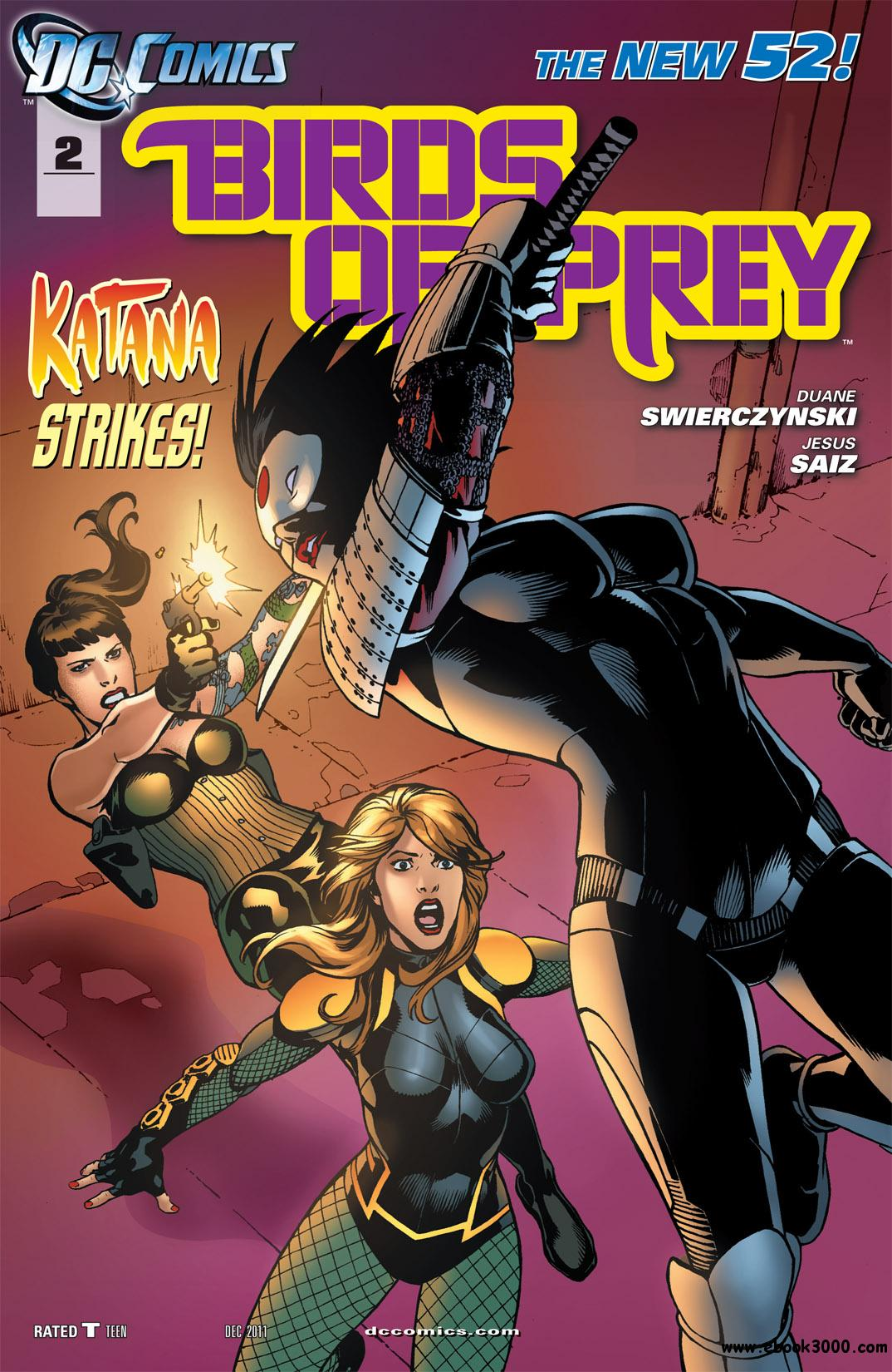 Birds of Prey #2 (2011) free download
