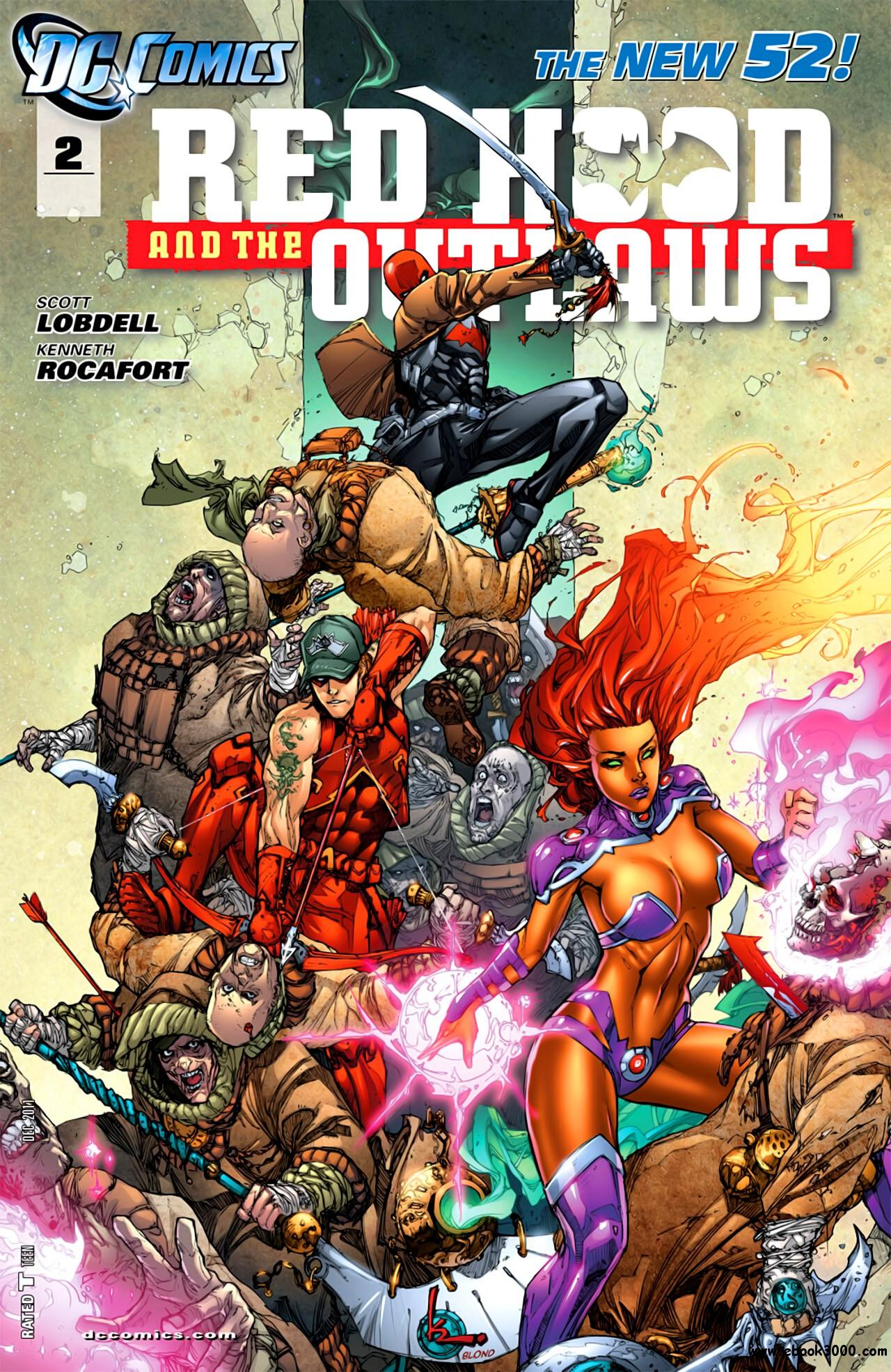 Red Hood and the Outlaws #2 (2011) free download