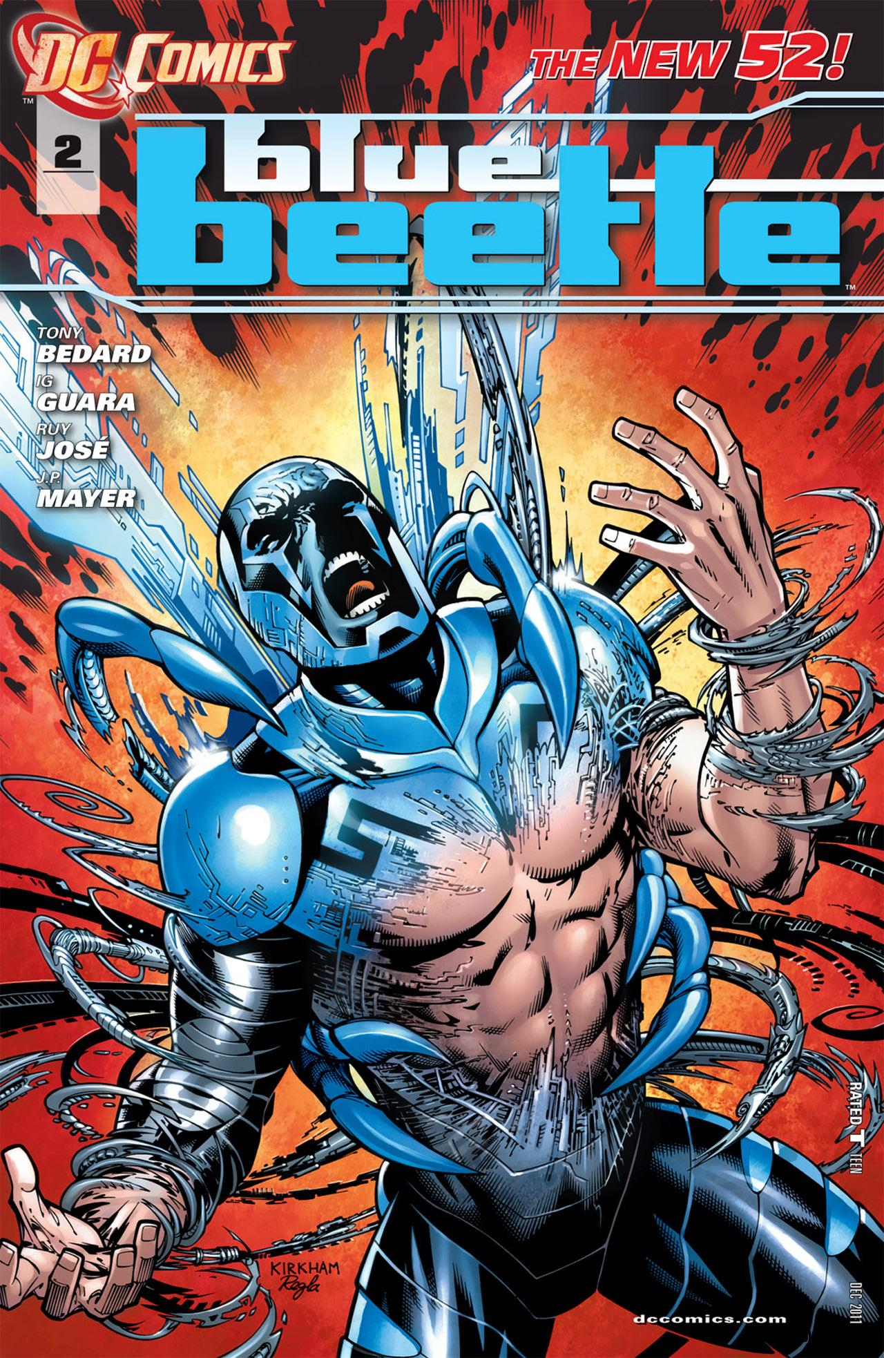 Blue Beetle #2 (2011) free download