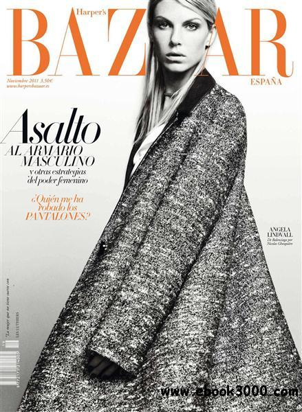 Harper's Bazaar - November 2011 / Spain free download