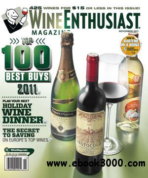 Wine Enthusiast - November 2011 free download