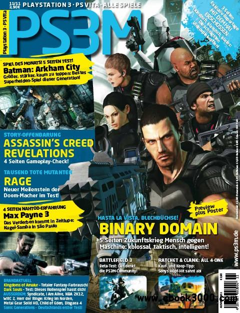 PS3M Das Playstation Magazin 11 2011 free download
