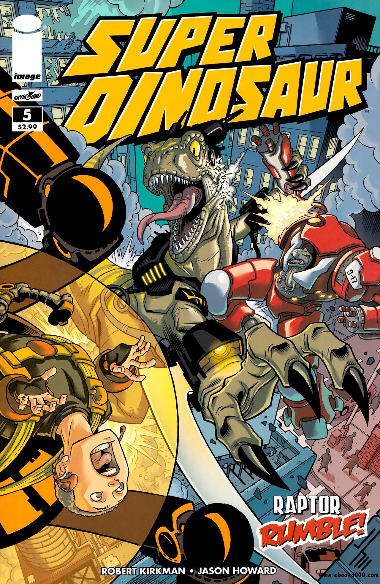 Super Dinosaur #5 (2011) free download