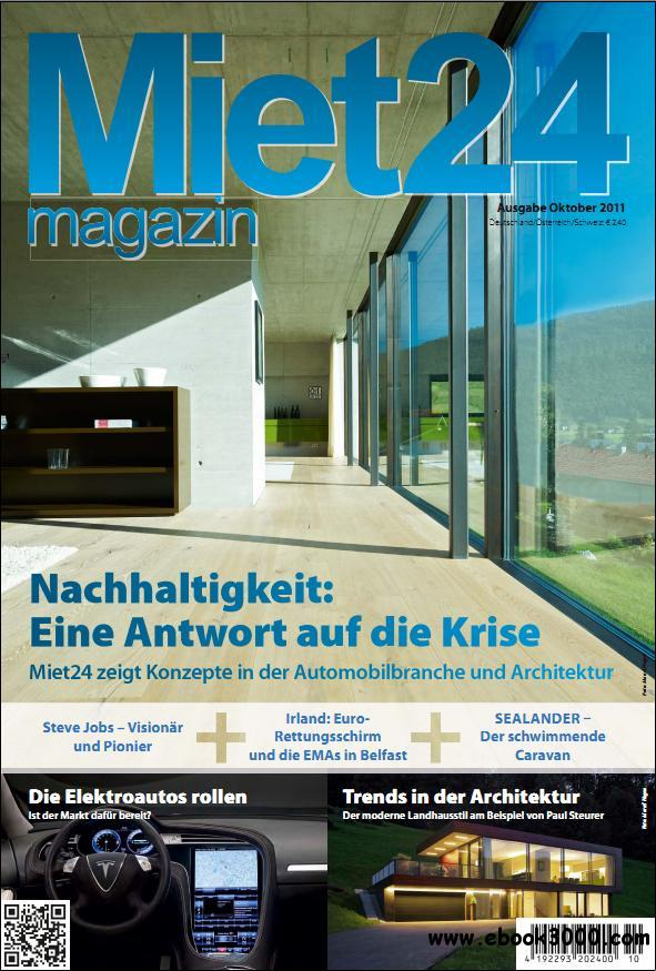 Miet24 Magazin  Ausgabe Oktober 2011 free download