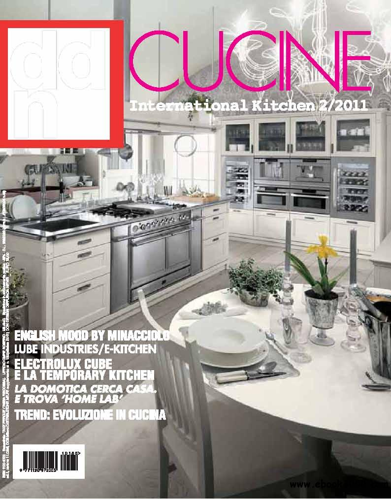 DDN Design Diffusion News Cucina.October 2011 (Ottobre 2011) free download