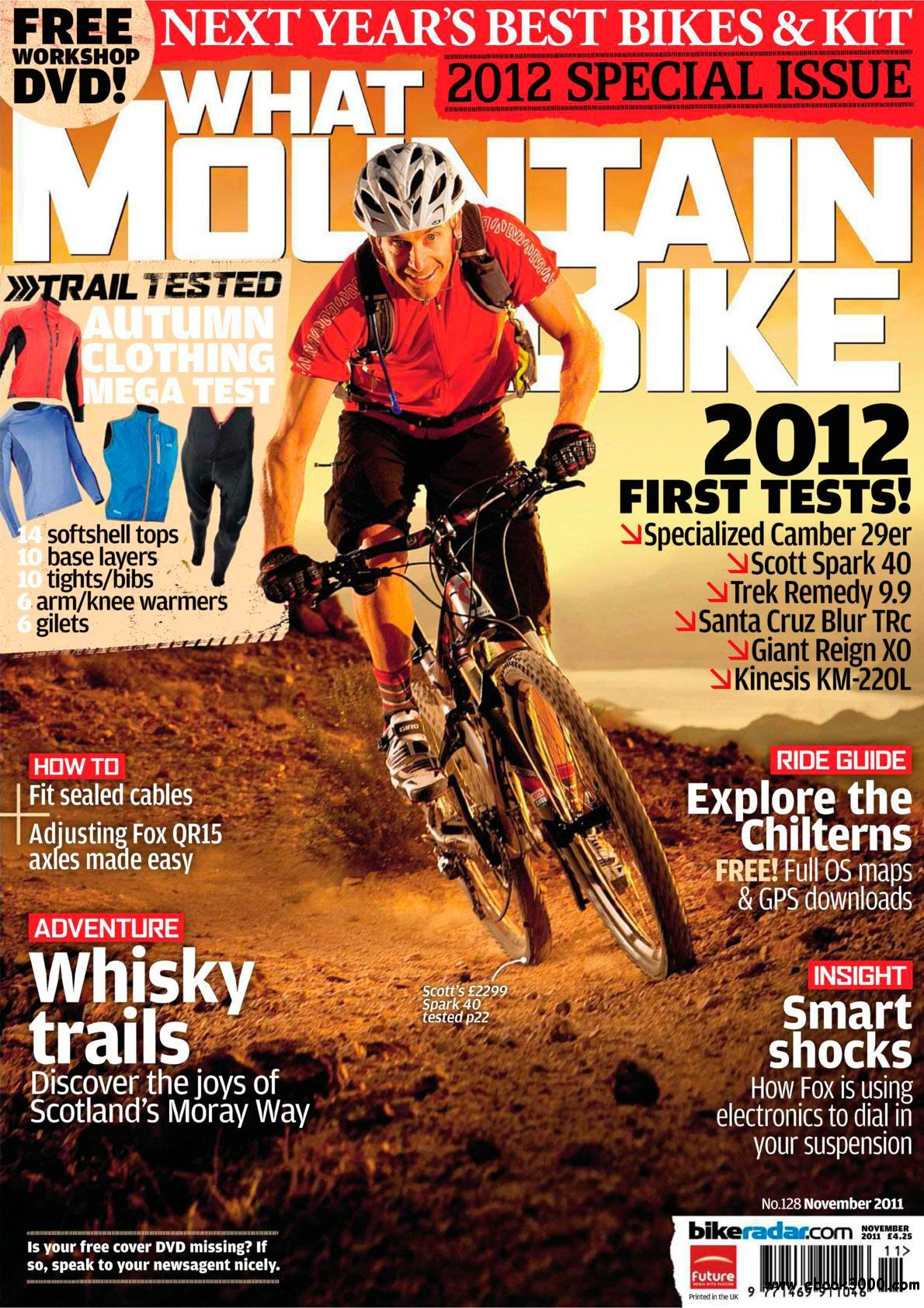 What Mountain Bike - November 2011 free download
