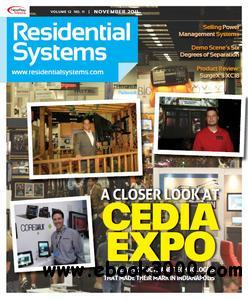 Residential Systems - November 2011 free download