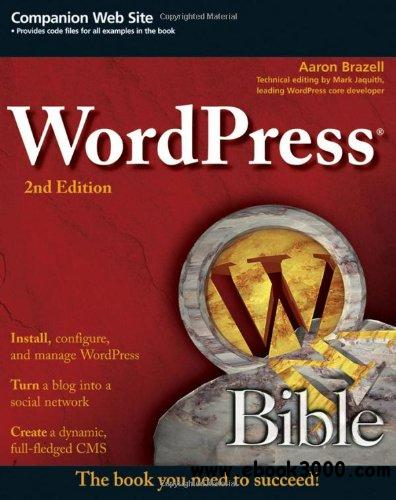 WordPress Bible free download