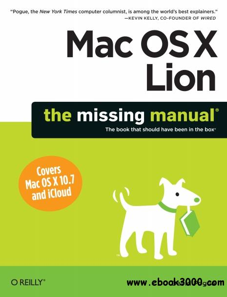 Mac OS X Lion: The Missing Manual free download