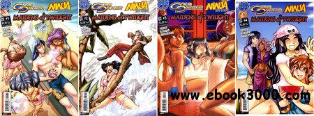 Gold Digger-Ninja High School - Maidens of Twilight 1-4 (2009) [Complete] free download