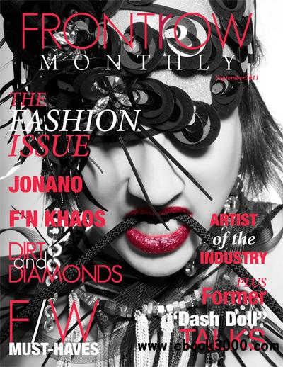 Front Row Monthly - September 2011 free download