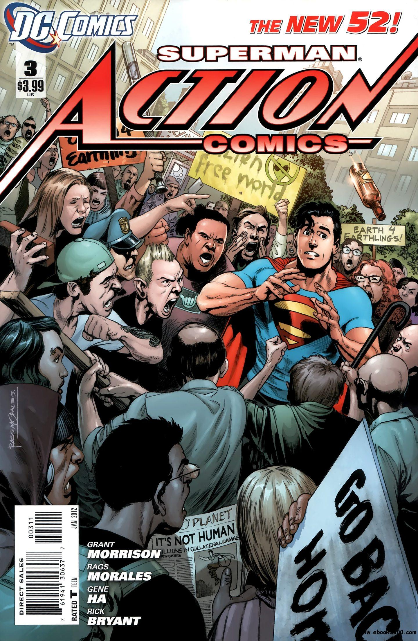 Action Comics #3 (2011) free download