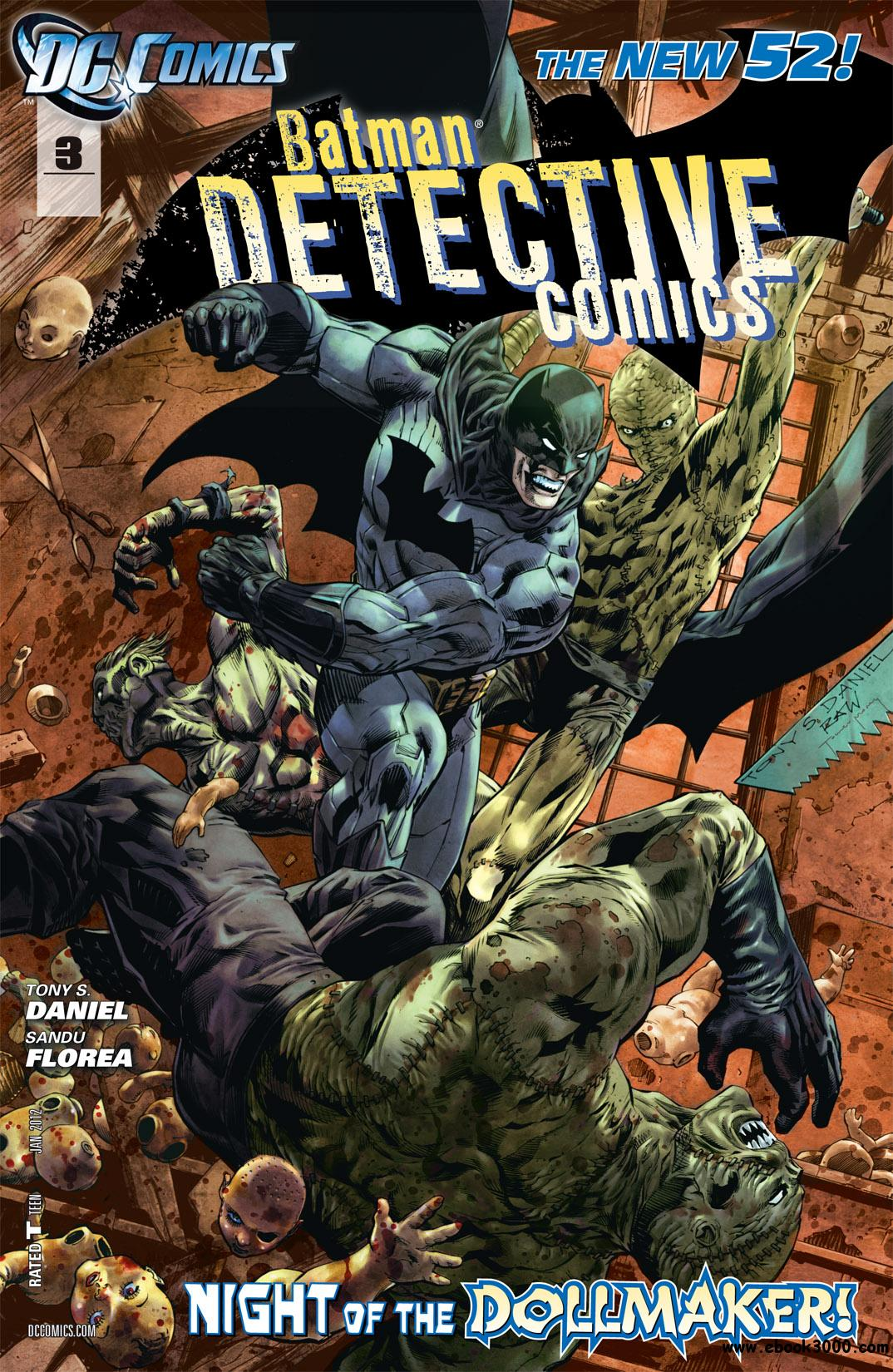 Detective Comics #3 (2012) free download