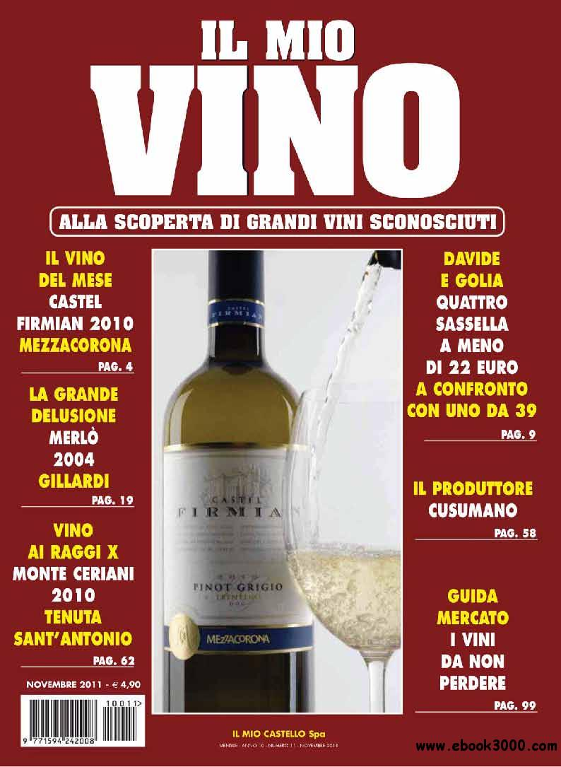 il mio Vino November 2011 (Novembre 2011) free download