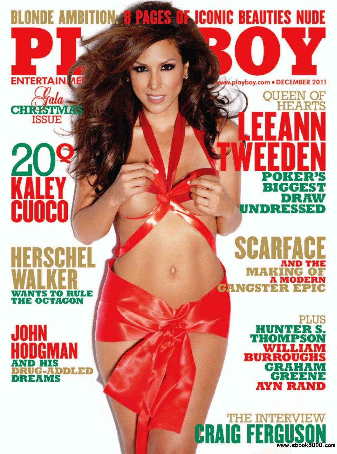 Playboy USA - December 2011 free download
