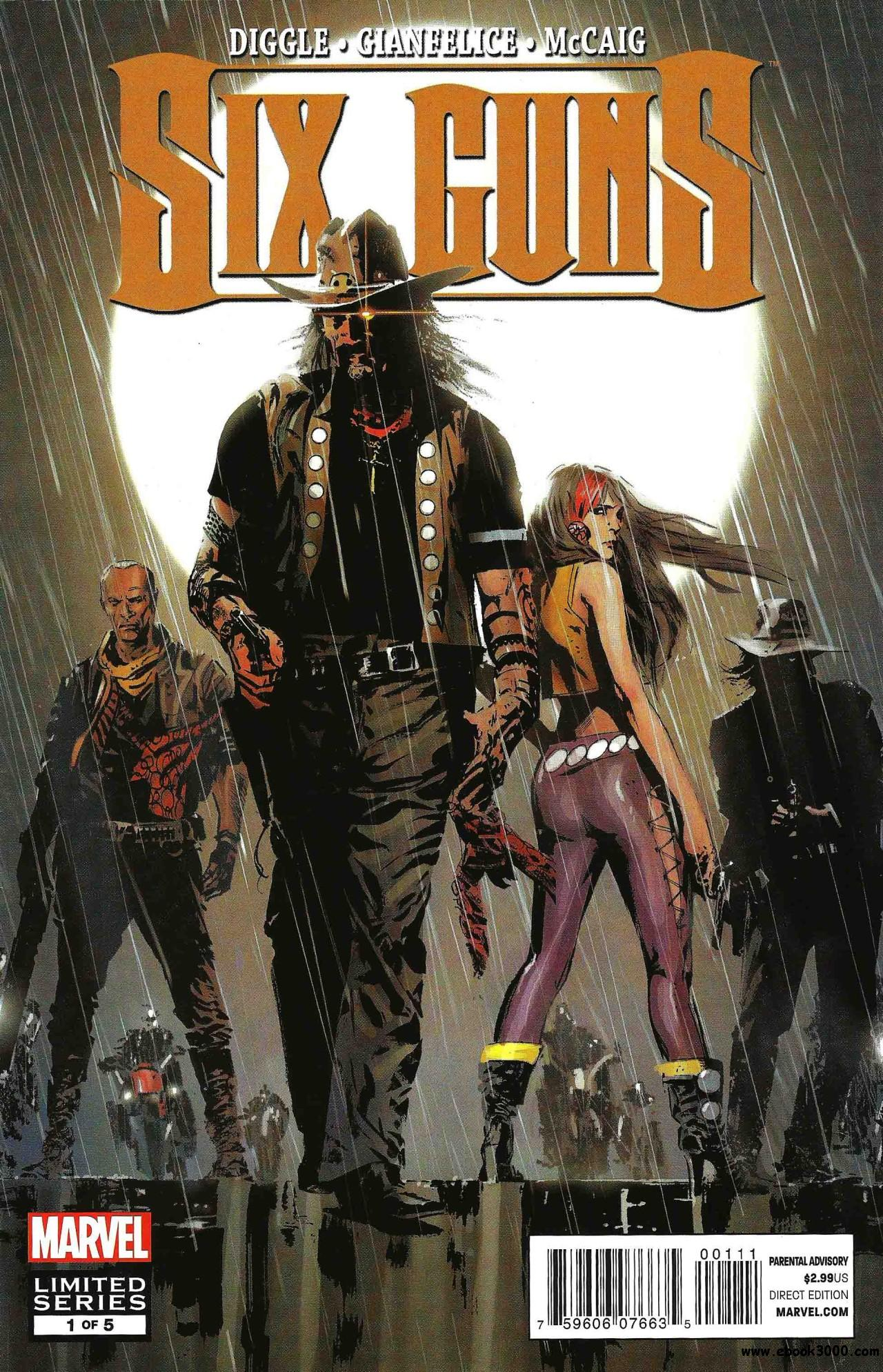 Six Guns #1 (2012) free download
