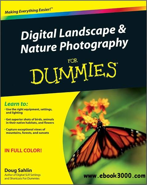 Digital Landscape and Nature Photography For Dummies free download