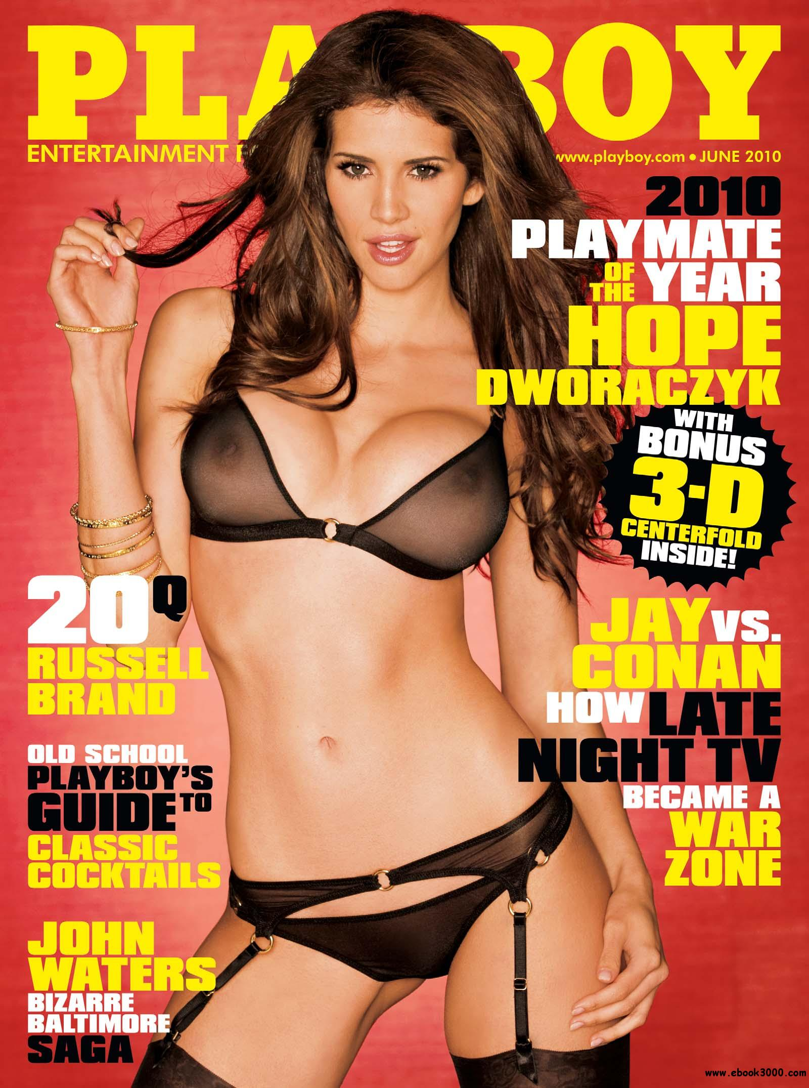 Playboy USA - June 2010 free download