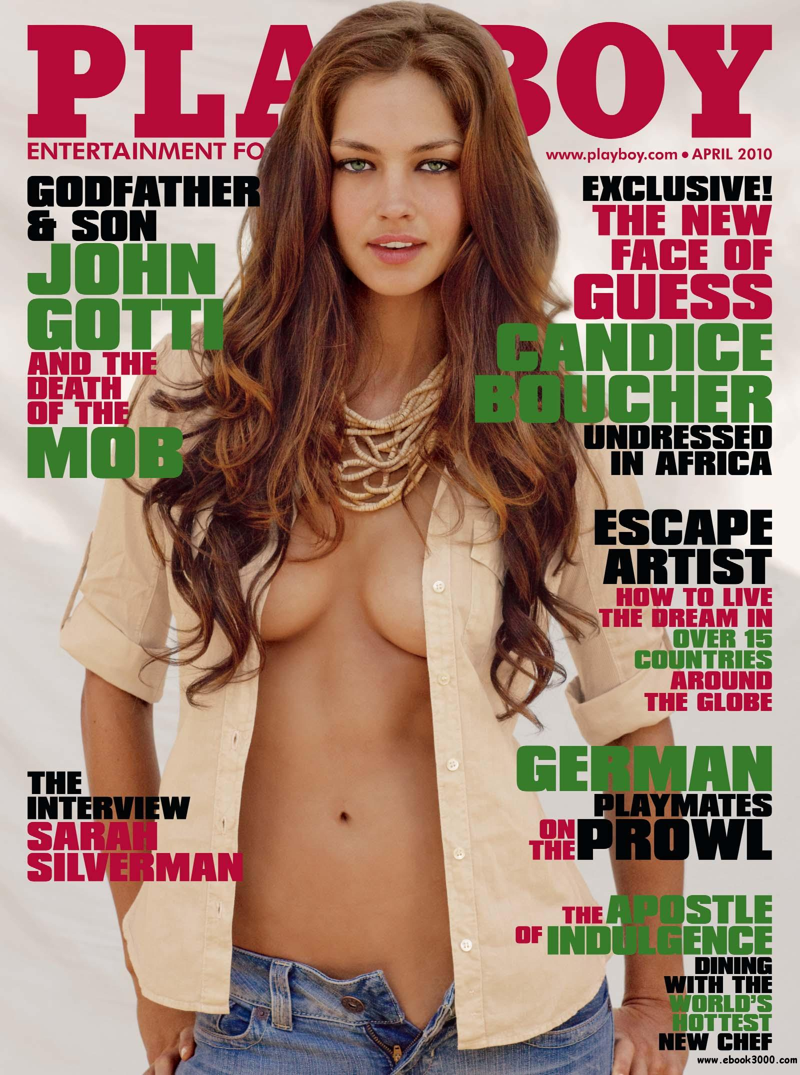 Playboy USA - April 2010 free download