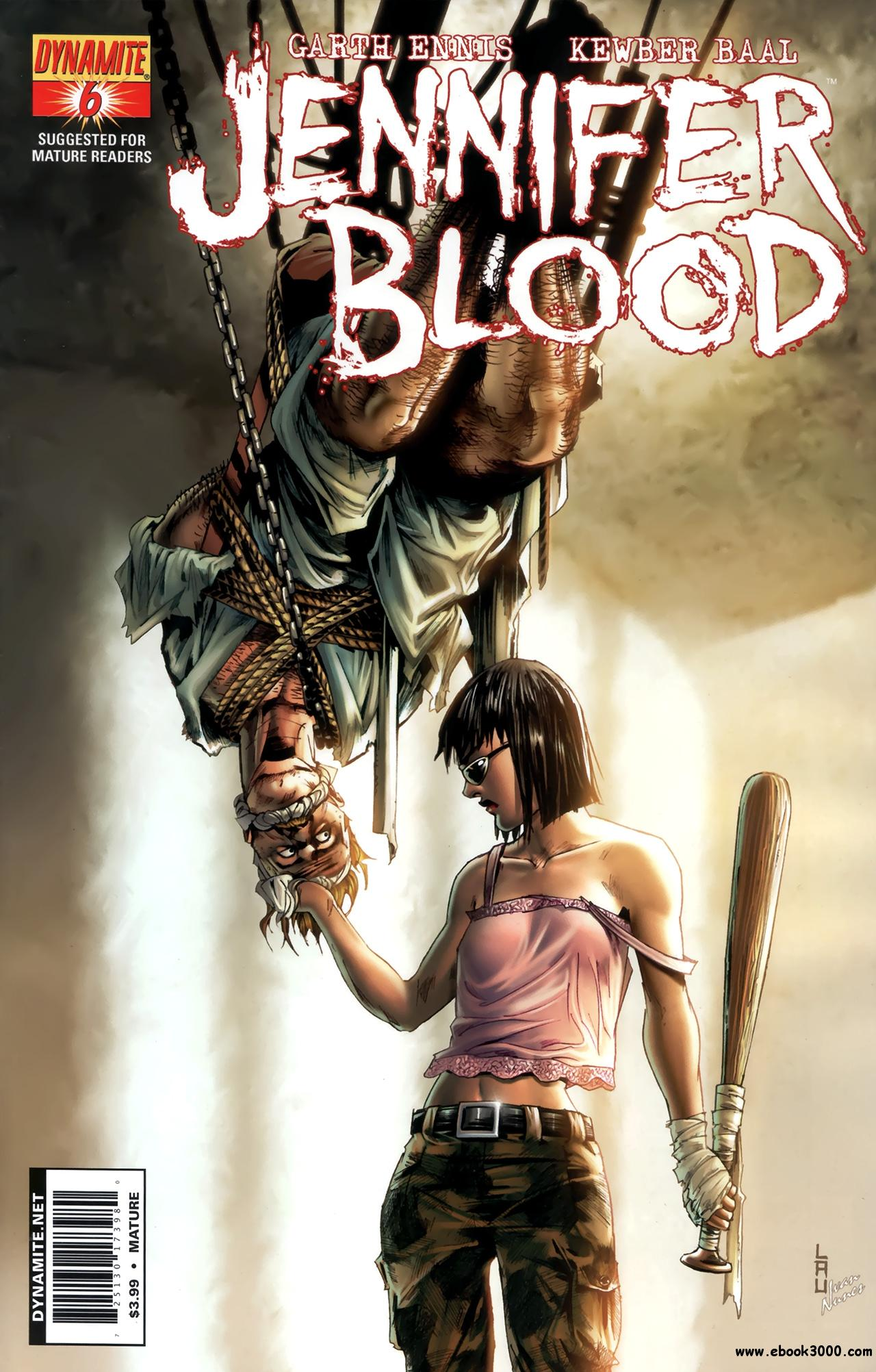 Jennifer Blood #6 (2011) free download