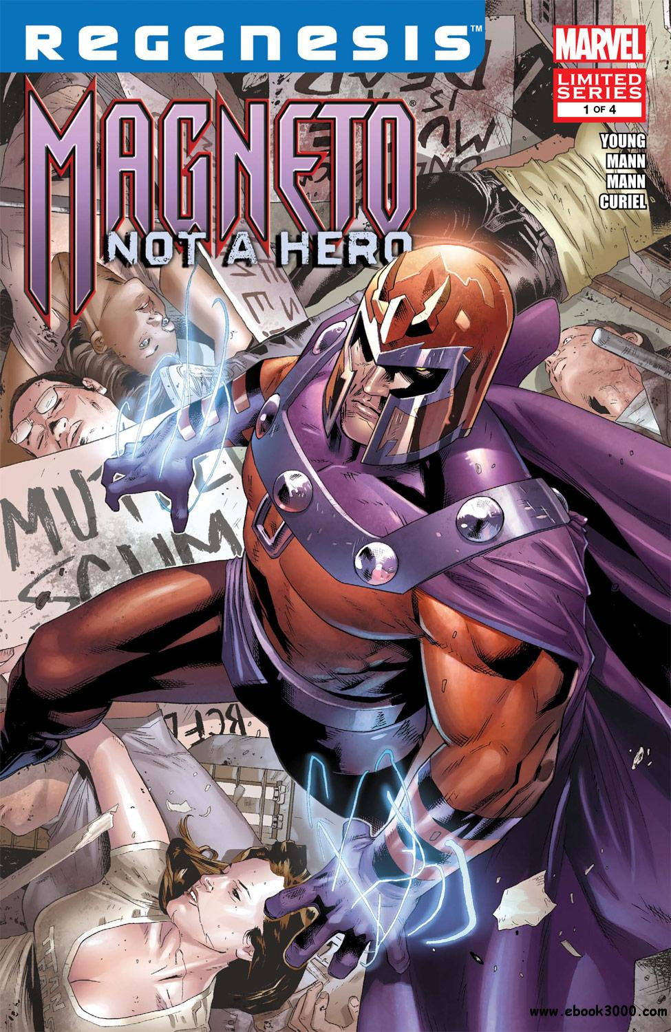 Magneto - Not a Hero #1 (of 04) (2012) free download