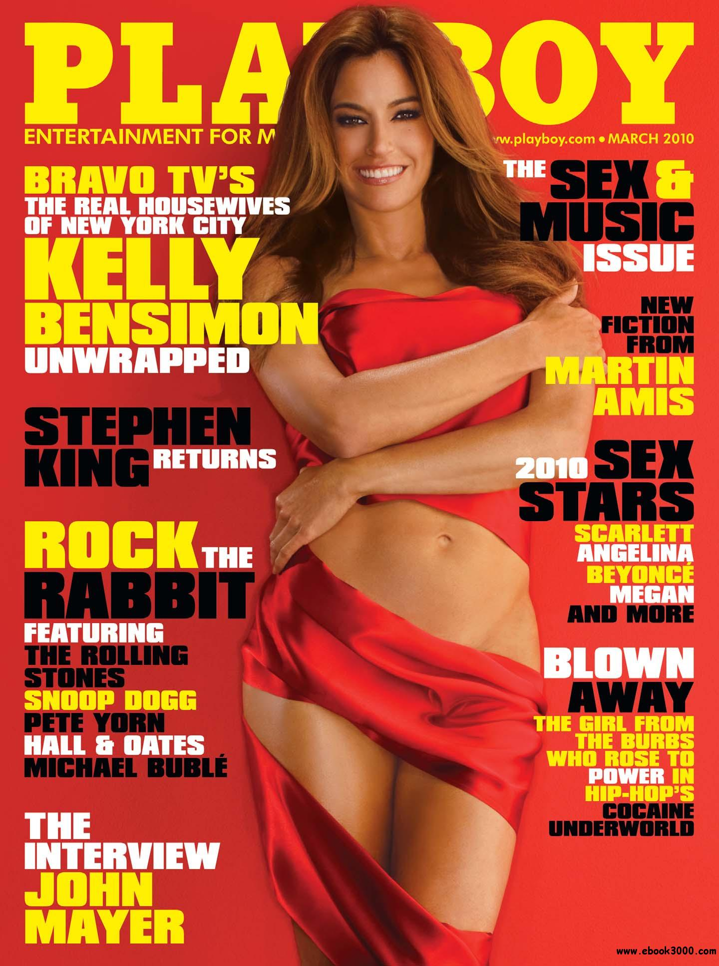 Playboy USA - March 2010 free download