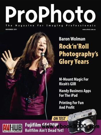 Pro Photo Australia - November 2011 free download