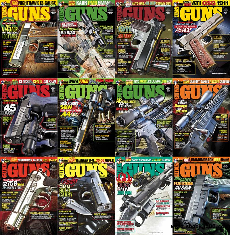 Guns Magazine 2011 Full Year Collection free download