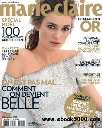 Marie Claire France - Decembre 2011 free download