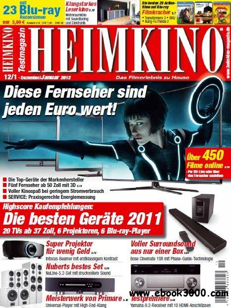 Heimkino Magazin Dezember - Januar No 12-01 2011-2012 free download