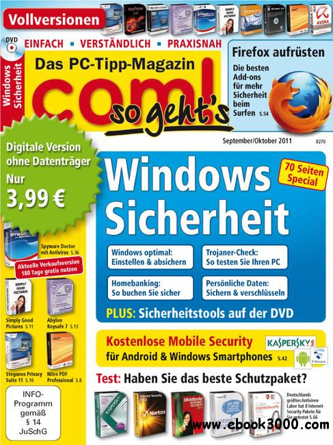 COM so gehts Das PC Tipp Magazin September Oktober No 10 2011 free download