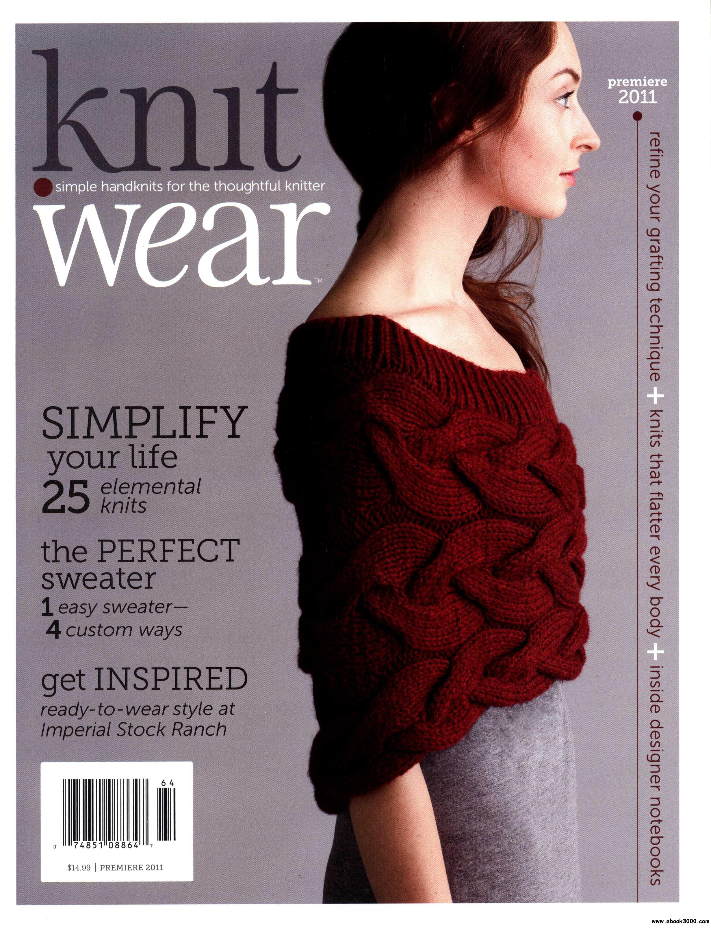 Knit.Wear - Special Edition from Interweare Knits 2011 free download